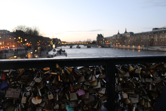 Pont des arts - Parigi Gennaio 2014